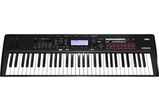 Claviers & Pianos - WORKSTATIONS - Korg - KOH KROSS2-61-MB - Royez Musik