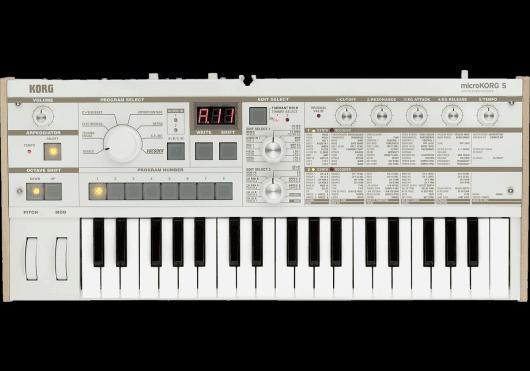 Claviers & Pianos - SYNTHÉTISEURS - Korg - KOH MICROKORG-S - Royez Musik