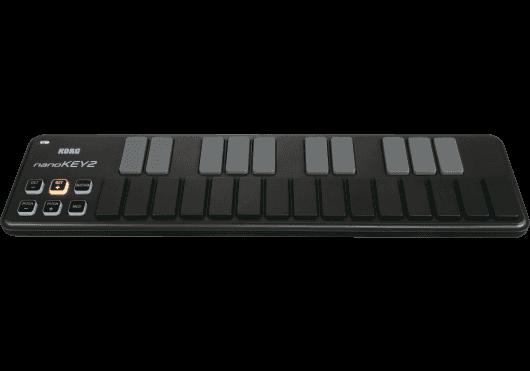 Claviers & Pianos - CLAVIERS - CLAVIERS MAITRES - Korg - NanoKey2-BK - Royez Musik