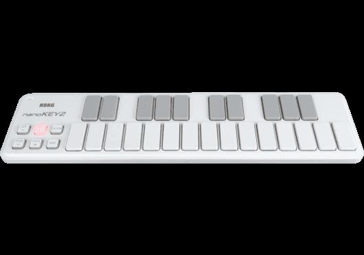 Claviers & Pianos - CLAVIERS - CLAVIERS MAITRES - Korg - NanoKey2-WH - Royez Musik