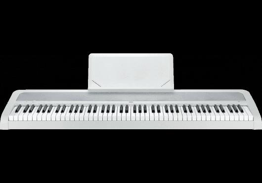 Claviers & Pianos - PIANOS NUMERIQUES - PORTABLE - Korg - KOP B2-WH - Royez Musik