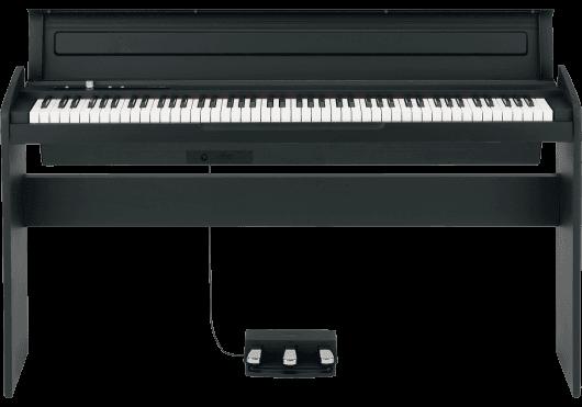 Claviers & Pianos - PIANOS NUMERIQUES - MEUBLE - Korg - KOP LP-180-BK - Royez Musik
