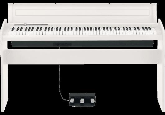 Claviers & Pianos - PIANOS NUMERIQUES - MEUBLE - Korg - KOP LP-180-WH - Royez Musik