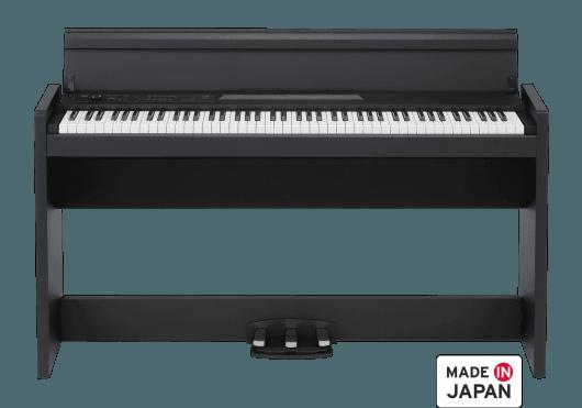 Claviers & Pianos - PIANOS NUMERIQUES - MEUBLE - Korg - KOP LP380-BK - Royez Musik
