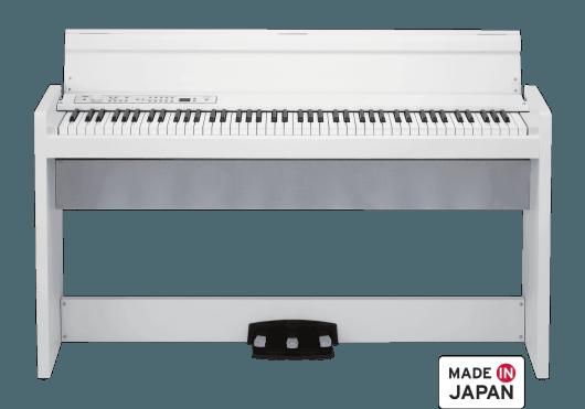 Claviers & Pianos - PIANOS NUMERIQUES - MEUBLE - Korg - KOP LP380-WH - Royez Musik
