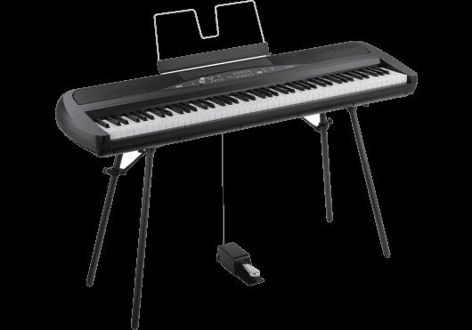 Claviers & Pianos - PIANOS NUMERIQUES - PORTABLE - Korg - KOP SP280-BK - Royez Musik