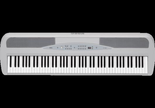Claviers & Pianos - PIANOS NUMERIQUES - PORTABLE - Korg - KOP SP280-WH - Royez Musik