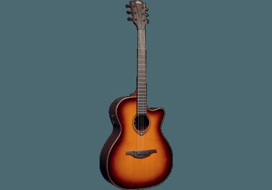 Guitares & Co - GUITARES ACOUSTIQUES - 6 CORDES - Lâg - GLA T100ACE-BRS - Royez Musik