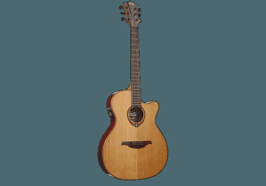 Guitares & Co - GUITARES ACOUSTIQUES - 6 CORDES - Lâg - GLA T100ASCE - Royez Musik