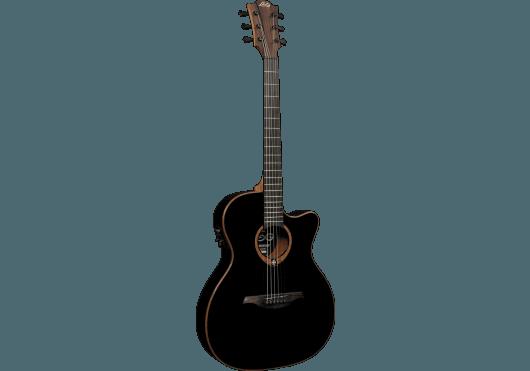 Guitares & Co - GUITARES ACOUSTIQUES - 6 CORDES - Lâg - GLA T100ASCE-BLK - Royez Musik
