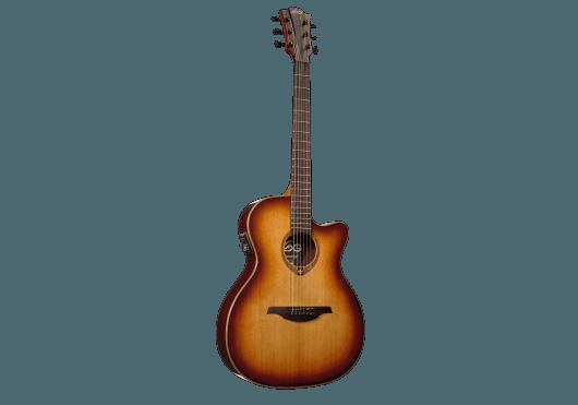 Guitares & Co - GUITARES ACOUSTIQUES - 6 CORDES - Lâg - GLA T100ASCE-BRS - Royez Musik