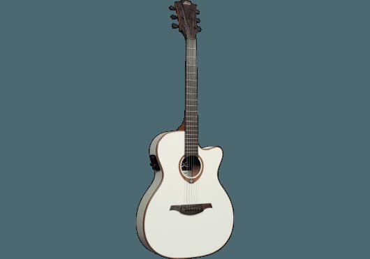 Guitares & Co - GUITARES ACOUSTIQUES - 6 CORDES - Lâg - GLA T100ASCE-IVO - Royez Musik
