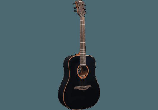 Guitares & Co - GUITARES ACOUSTIQUES - 6 CORDES - Lâg - GLA T100D-BLK - Royez Musik