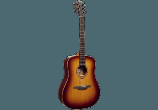 Guitares & Co - GUITARES ACOUSTIQUES - 6 CORDES - Lâg - GLA T100D-BRS - Royez Musik