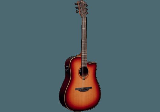 Guitares & Co - GUITARES ACOUSTIQUES - 6 CORDES - Lâg - GLA T100DCE-BRS - Royez Musik