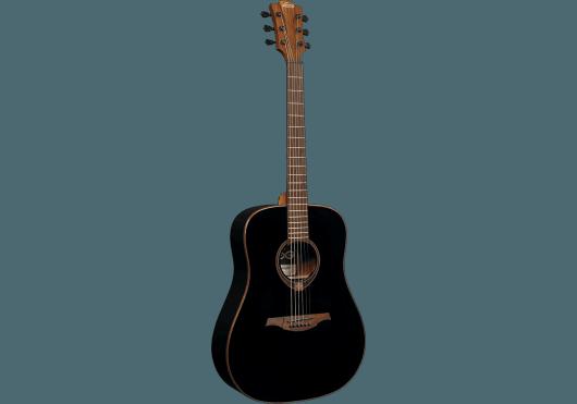 Guitares & Co - GUITARES ACOUSTIQUES - 6 CORDES - Lâg - GLA T118D-BLK - Royez Musik