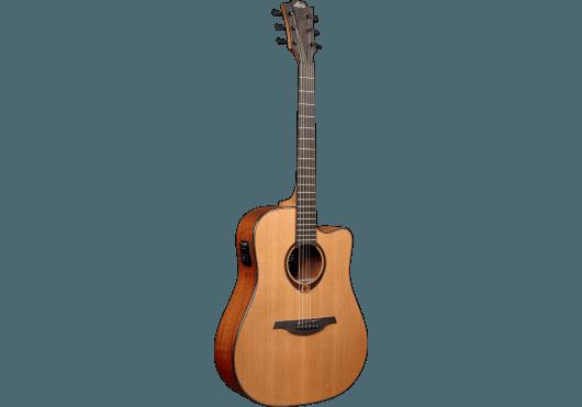 Guitares & Co - GUITARES ACOUSTIQUES - 6 CORDES - Lâg - GLA T200DCE - Royez Musik