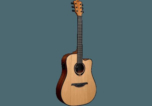 Guitares & Co - GUITARES ACOUSTIQUES - 6 CORDES - Lâg - GLA T80DCE - Royez Musik