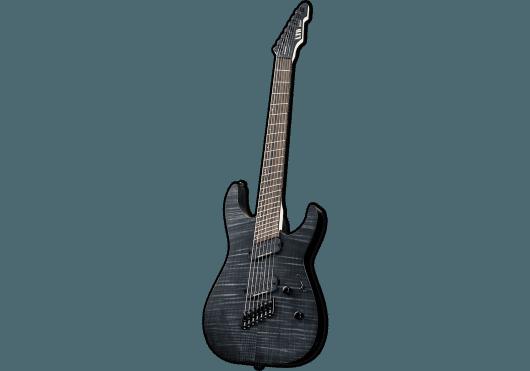 Guitares & Co - GUITARES ELECTRIQUES - GUITARES SOLID BODY - LTD - GES M1007MS-STBLKS - Royez Musik