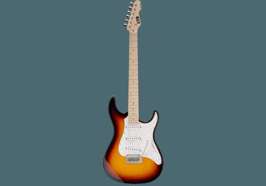 Guitares & Co - GUITARES ELECTRIQUES - GUITARES SOLID BODY - LTD - GES SN200M-3TB - Royez Musik