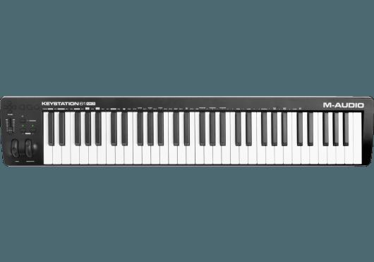 Claviers & Pianos - CLAVIERS - CLAVIERS MAITRES - M-AUDIO - KMD KEYSTATION61MK3 - Royez Musik