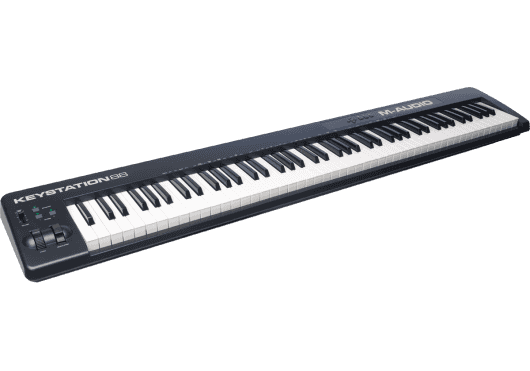 Claviers & Pianos - CLAVIERS - CLAVIERS MAITRES - M-AUDIO - KMD KEYSTATION88II - Royez Musik