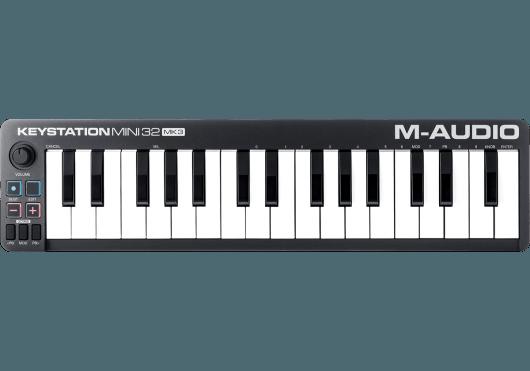 Claviers & Pianos - CLAVIERS - CLAVIERS MAITRES - M-AUDIO - KMD KEYSTATIONMINI32MK3 - Royez Musik