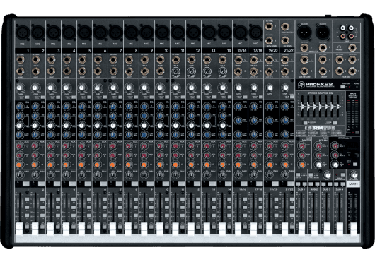 Audio - MIXAGE - CONSOLES DE MIXAGE - Mackie - SMK PROFX22 - Royez Musik