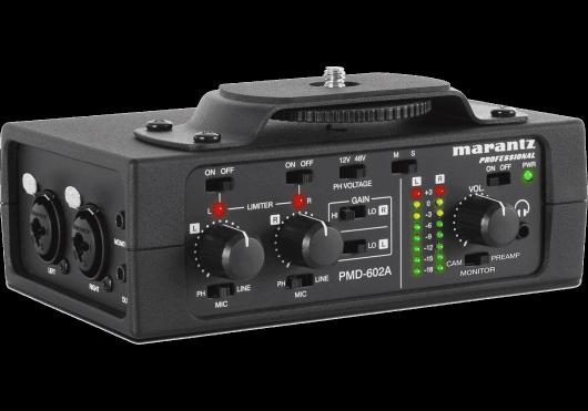 Audio - ENREGISTREMENT ET CAPTURES - Marantz Pro - RMA PMD602A - Royez Musik