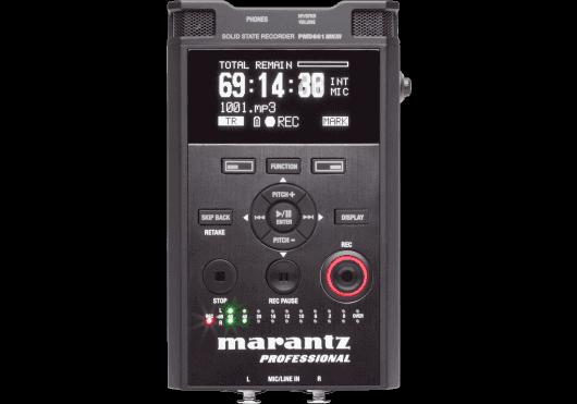 Audio - ENREGISTREMENT ET CAPTURES - Marantz Pro - RMA PMD661MK3 - Royez Musik