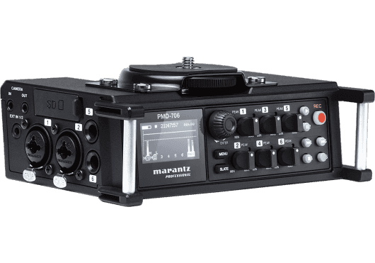 Audio - ENREGISTREMENT ET CAPTURES - Marantz Pro - RMA PMD706 - Royez Musik