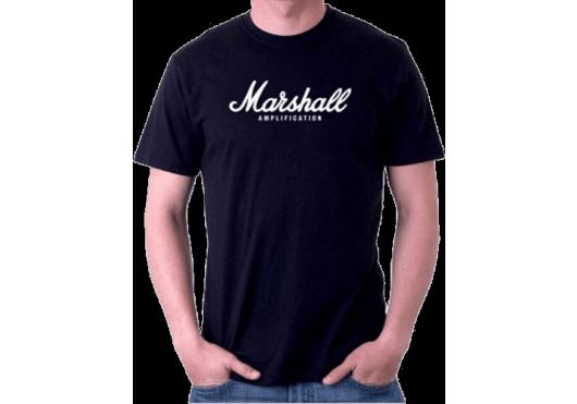 Merchandising - TEXTILE - TEE-SHIRT - Marshall - YMAR TSAMP01-H-BK-L - Royez Musik