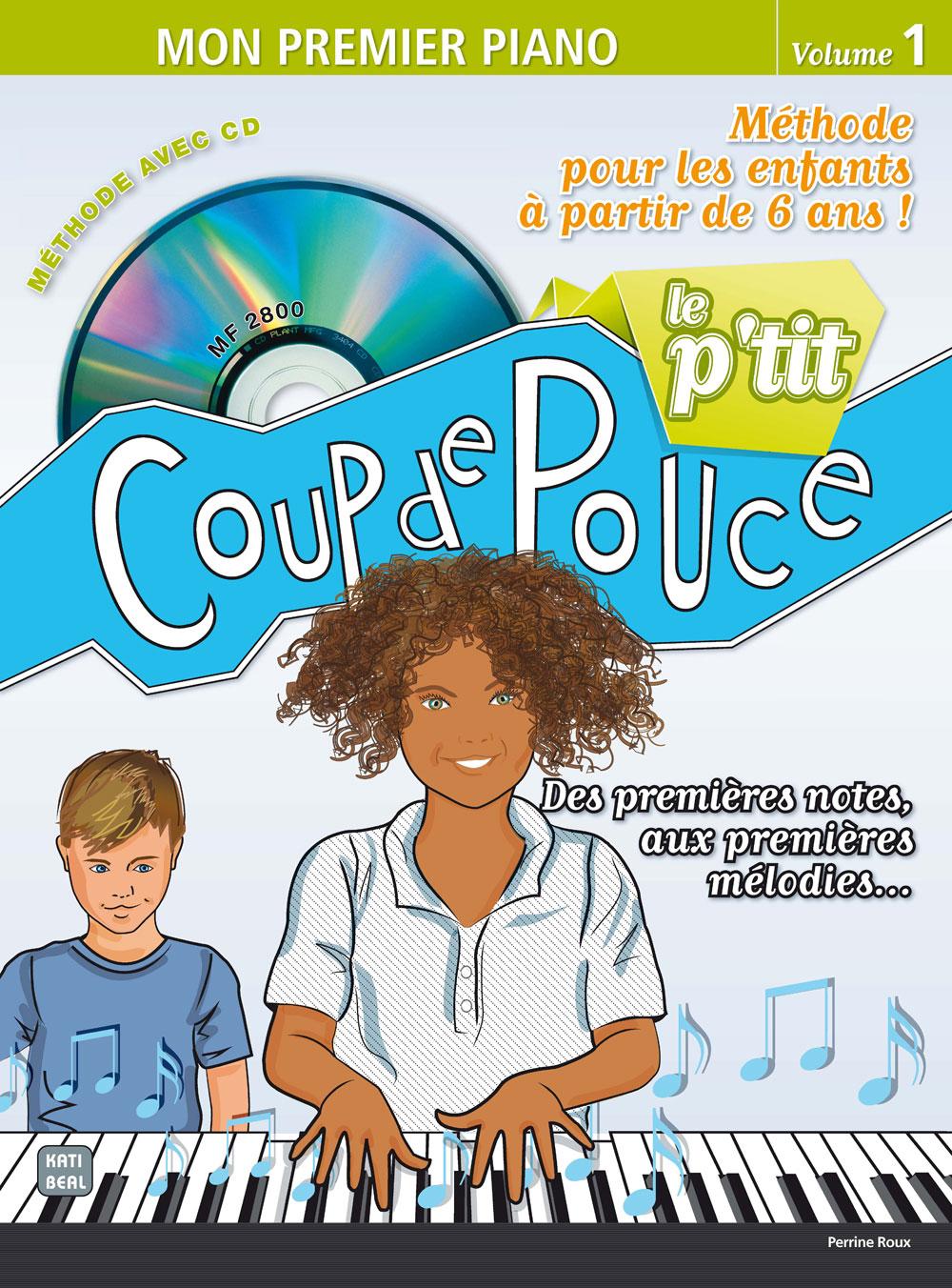 Librairie - METHODES -  - Méthode Coup de Pouce piano  - Royez Musik