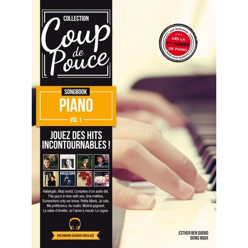 Librairie - METHODES -  - Méthode Coup de pouce piano vol. 1 - Royez Musik