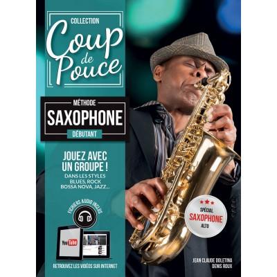 Librairie - METHODES -  - Méthode Coup de pouce saxophone - Royez Musik