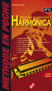 Librairie - METHODES -  - Méthode Harmonica  - Royez Musik