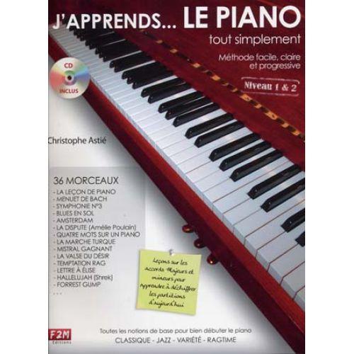 Librairie - METHODES -  - Méthode j'apprends le piano - Royez Musik