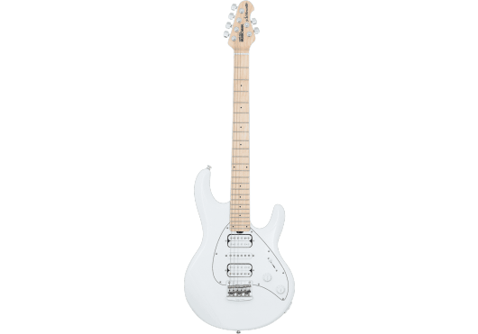 Guitares & Co - GUITARES ELECTRIQUES - GUITARES SOLID BODY - MUSIC MAN - GMM SILHSHSTD-WH-RMM-W-C - Royez Musik