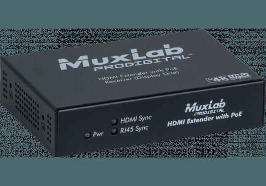 Vidéo - PRO DIGITAL - MuxLab - IMU 500451-POE-RX - Royez Musik
