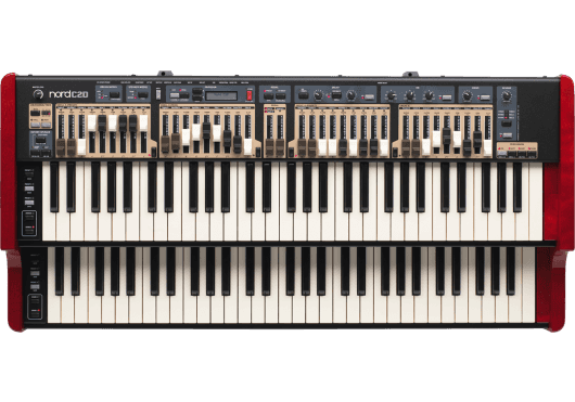 Claviers & Pianos - ORGUES & CLAVECINS - Nord - KNO NORD-C2D - Royez Musik