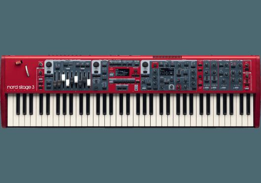 Claviers & Pianos - CLAVIERS DE SCÈNE - Nord - KNO NS3-COMPACT - Royez Musik