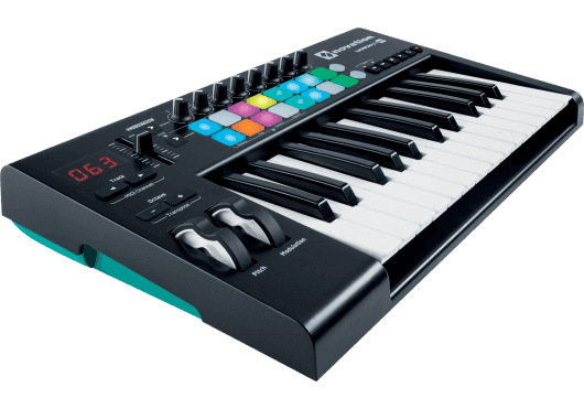 Claviers & Pianos - CLAVIERS - CLAVIERS MAITRES - Novation - RNO LAUNCHKEY-25-MK2 - Royez Musik