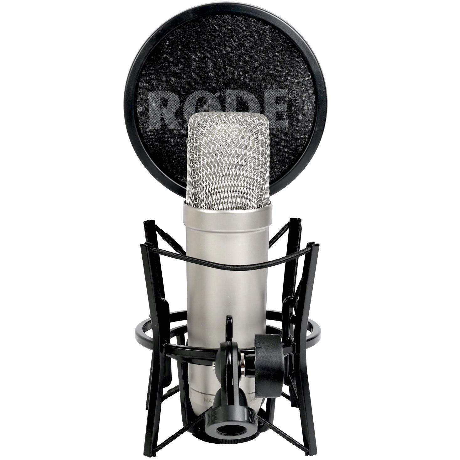 Audio - MICROS - MICROS DE STUDIO - RODE - NT1-A  - Royez Musik