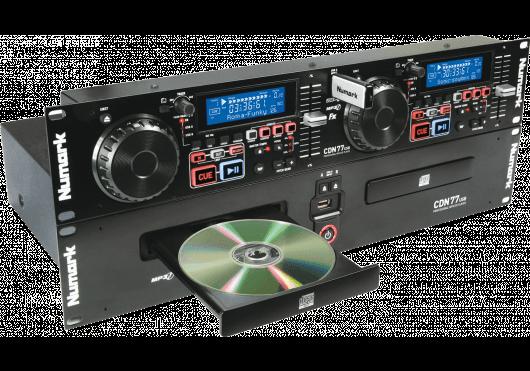 Audio - PLATINES - CD - Numark - DNU CDN77USB - Royez Musik