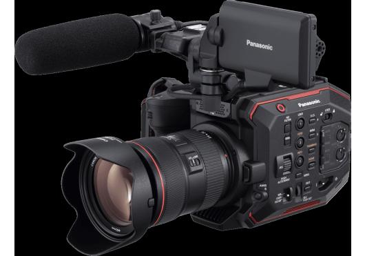 Vidéo - BROADCAST - Panasonic - IPB AU-EVA1EJ - Royez Musik