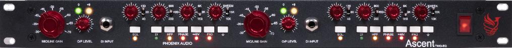Amplis effets - PREAMPLIS - PHOENIX AUDIO - PHOASCQ2 - Royez Musik