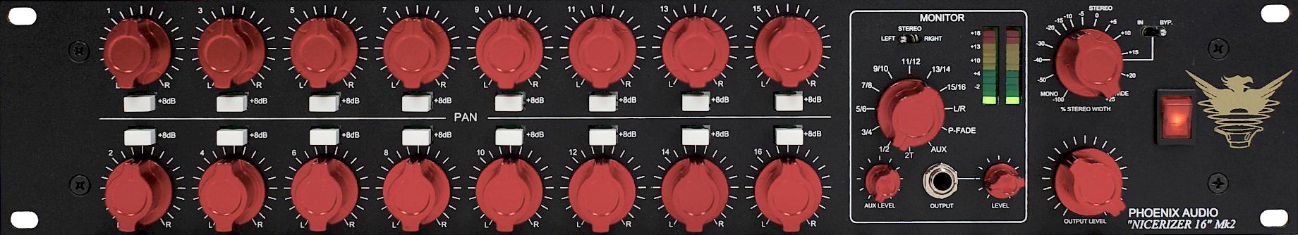 Audio - EFFETS ET TRAITEMENT - PHOENIX AUDIO - PHONIC16 - Royez Musik