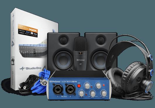 Audio - INTERFACES - INTERFACES AUDIO - PreSonus - RPR ABOX96STUDIO-ULT - Royez Musik