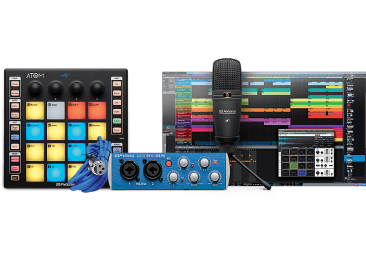 Audio - MACHINES - SURFACES DE CONTROLE - PreSonus - RPR ATOMPRODUCER - Royez Musik