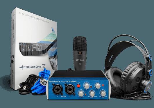 Audio - INTERFACES - INTERFACES AUDIO - PreSonus - RPR AUDIOBOX96STUDIO - Royez Musik